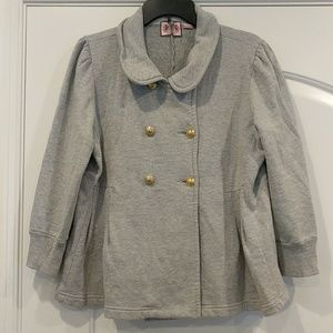 Juicy couture cotton 3/4 sleeve jacket